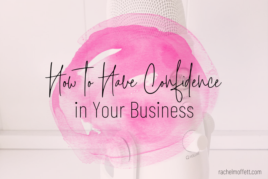 confidence in your business