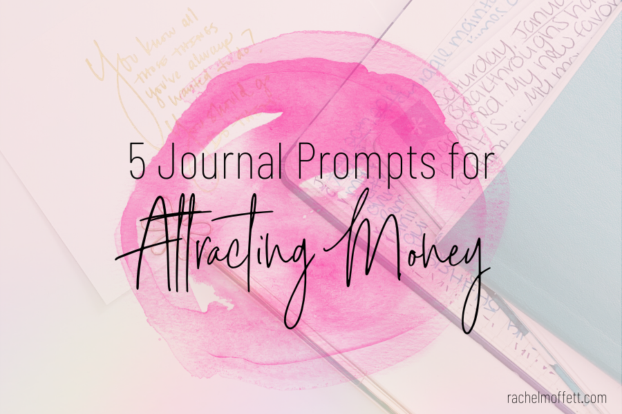 journal prompts for attracting money
