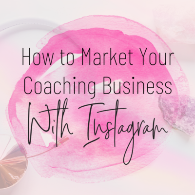 market your coaching business