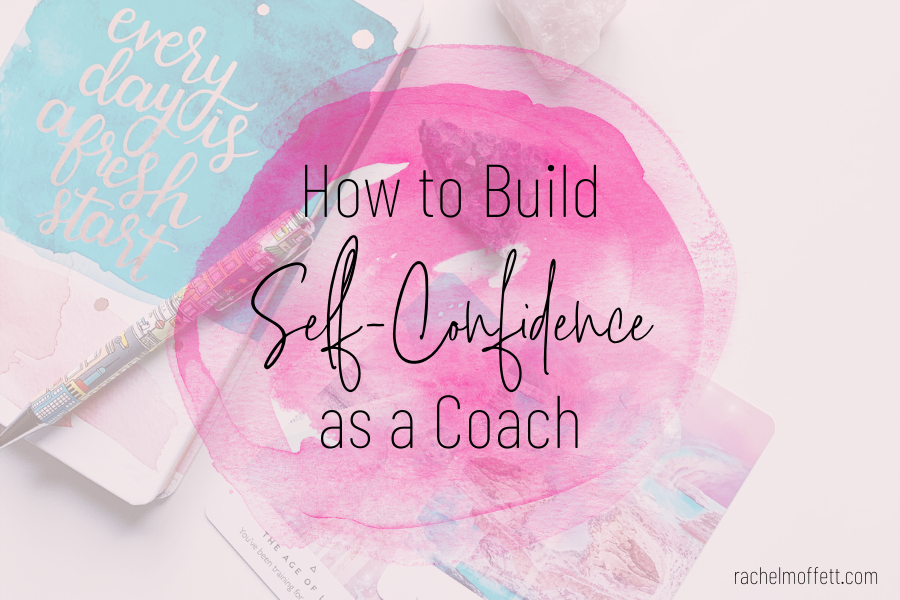 self-confidence as a coach