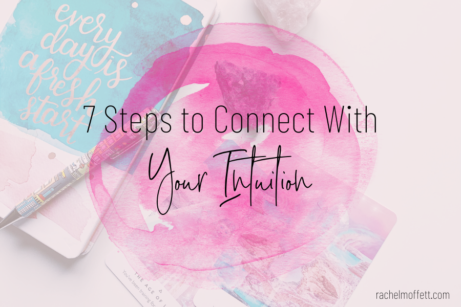 connect with your intuition